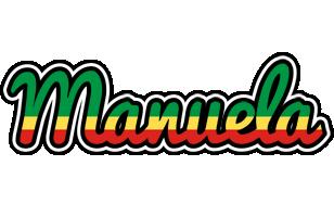 Manuela african logo