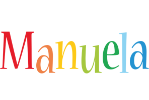 Manuela birthday logo