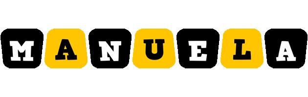 Manuela boots logo