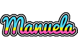 Manuela circus logo