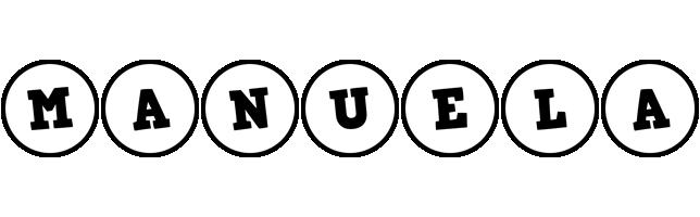 Manuela handy logo