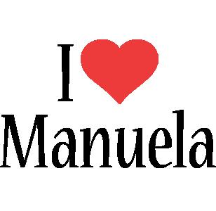 Manuela i-love logo