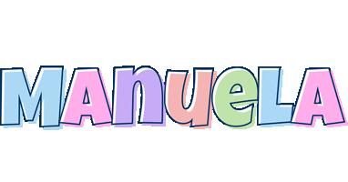 Manuela pastel logo
