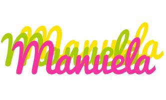 Manuela sweets logo