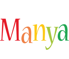 Manya birthday logo