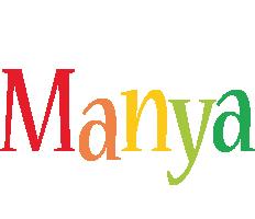 Manya birthday logo