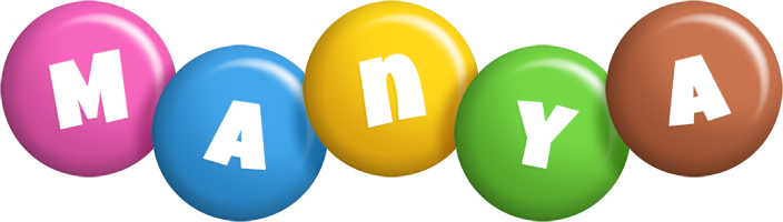 Manya candy logo