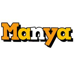 Manya cartoon logo
