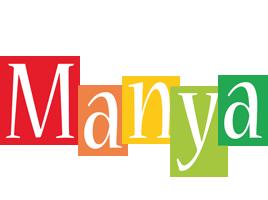 Manya colors logo
