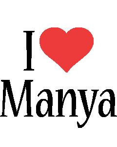 Manya i-love logo