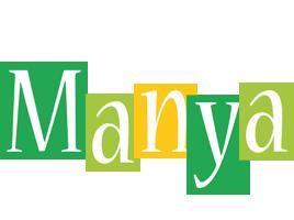 Manya lemonade logo