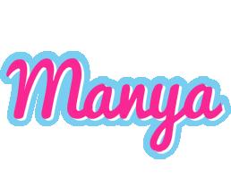 Manya popstar logo