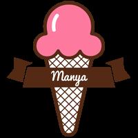 Manya premium logo