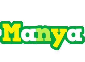Manya soccer logo