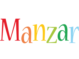 Manzar birthday logo