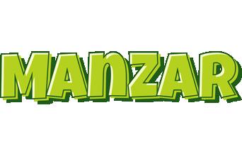 Manzar summer logo