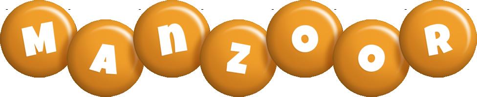 Manzoor candy-orange logo