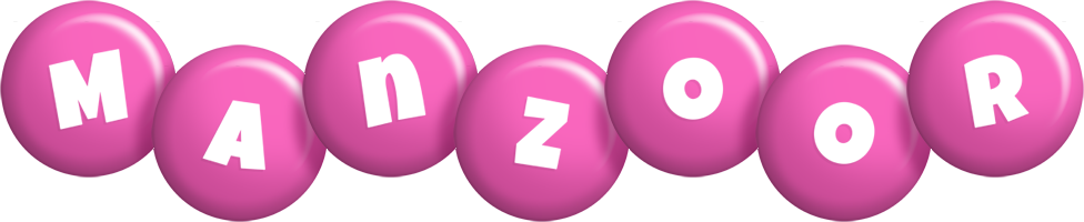 Manzoor candy-pink logo