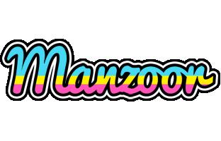 Manzoor circus logo
