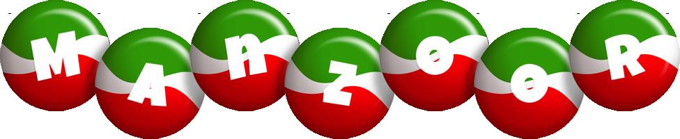 Manzoor italy logo