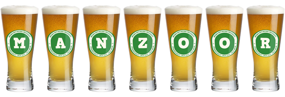 Manzoor lager logo