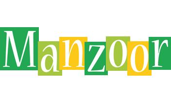 Manzoor lemonade logo