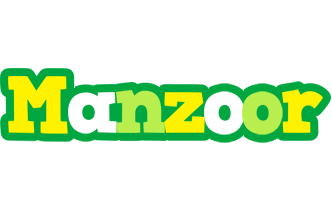 Manzoor soccer logo