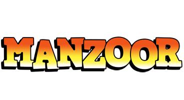 Manzoor sunset logo