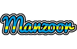 Manzoor sweden logo