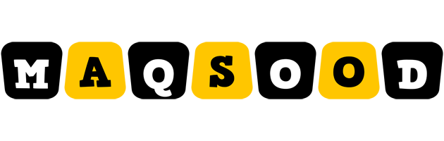 Maqsood boots logo