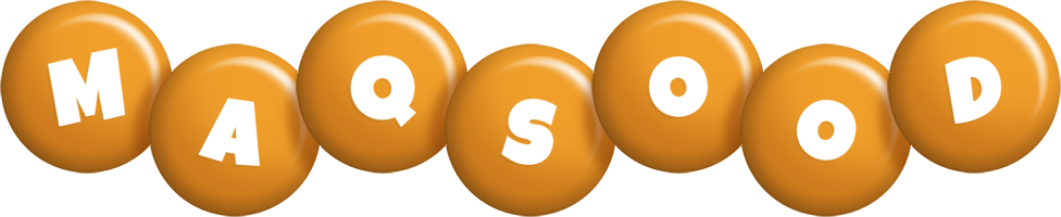 Maqsood candy-orange logo