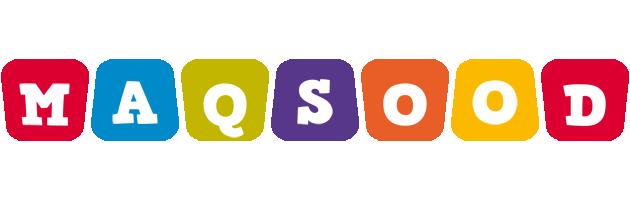 Maqsood daycare logo