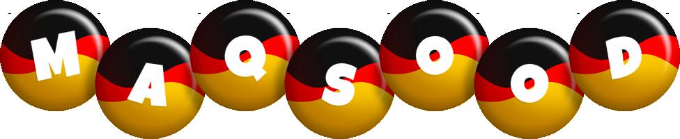 Maqsood german logo