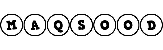 Maqsood handy logo