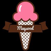 Maqsood premium logo
