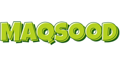 Maqsood summer logo