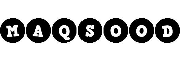 Maqsood tools logo