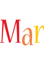 Mar birthday logo