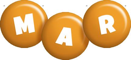 Mar candy-orange logo