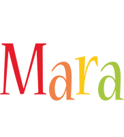 Mara birthday logo