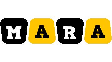 Mara boots logo