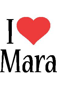 Mara i-love logo