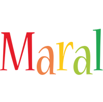 Maral birthday logo