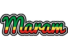 Maram african logo