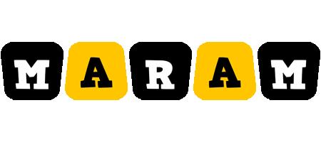 Maram boots logo