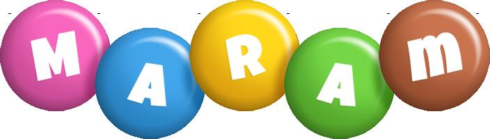 Maram candy logo