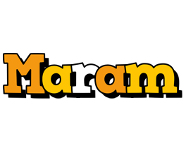 Maram cartoon logo