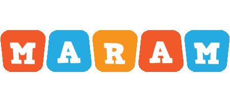 Maram comics logo