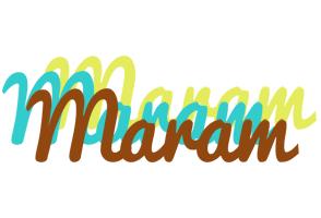 Maram cupcake logo