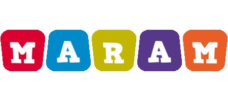 Maram daycare logo